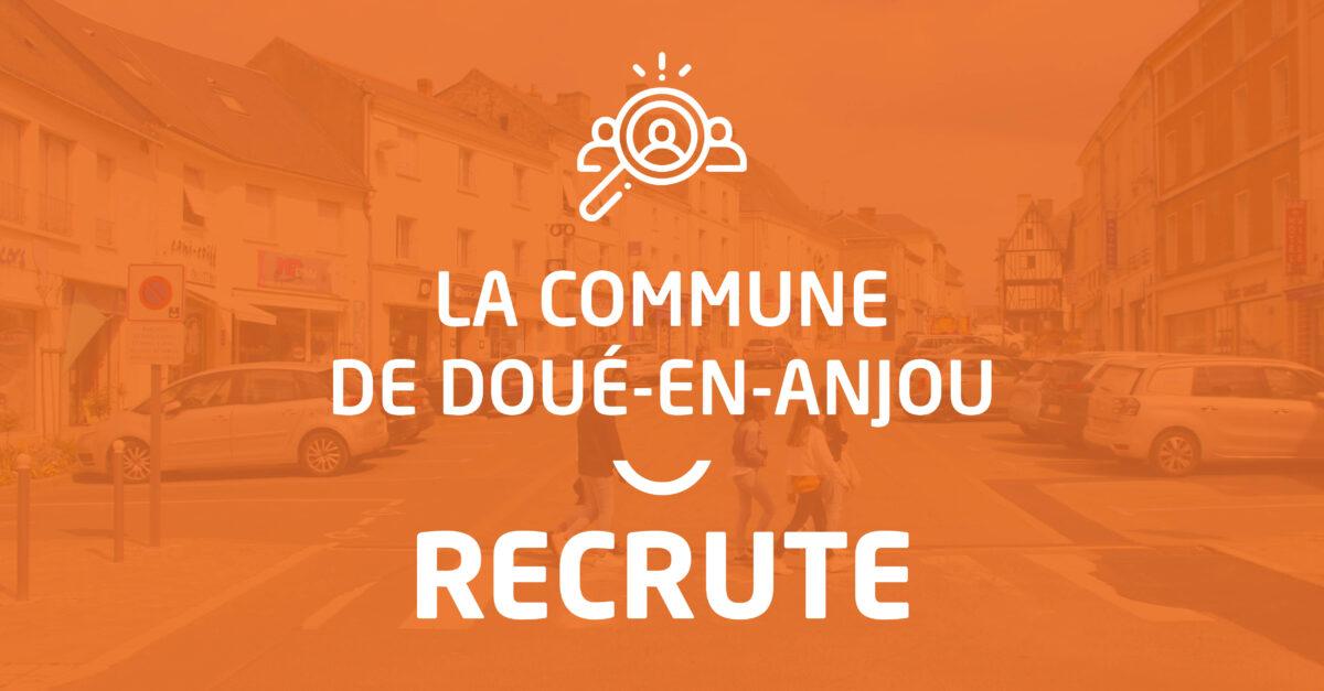 Doué-en-Anjou recrute